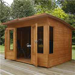 8ft x 8ft (2.44m x 2.11m) Helios Summerhouse (12mm Tongue and Groove Floor and Roof)