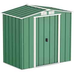 6ft x 4ft Value Metal Shed (2.01m x 1.22m)