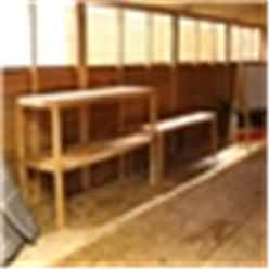 3ft (0.9m) 3 Stand Shelving (W)0.9m x (D)0.4m x (H)1.4m