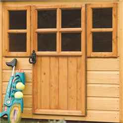 Little Lodge Rowlinson Playhouse 4ft x 4ft (1.25m x 1.29m)