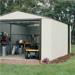 12ft x 10ft Murryhill Metal Garage (3710m x 2970mm)