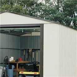 12ft x 17ft Murryhill Metal Garage (3710mm x 5160mm)