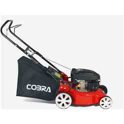 Cobra 40cm Petrol Push Rotary Lawnmower - Cobra M40C - Free Oil & Free Next Day Delivery*