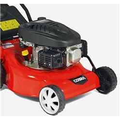 Cobra 46cm Briggs & Stratton Petrol Push Rotary Lawnmower - Cobra M46B - Free Oil & Free Next Day Delivery*