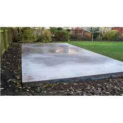 Concrete Base Less Than 3m