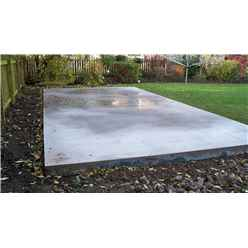 Concrete Base Less Than 4m