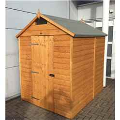 7ft x 5ft Deluxe Rowlinson Security Tongue & Groove Shed (12mm T&G Floor)