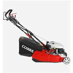 Cobra RM40C Petrol Powered 40cm Rear Roller Lawnmower - Free Oil and Free Next Day Delivery*