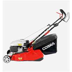 Cobra RM40SPC Petrol Powered 40cm Rear Roller Lawnmower - Free Oil and Free Next Day Delivery*