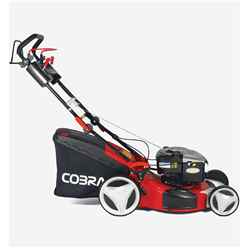 Cobra MX514SPB Petrol 4 in 1 Rotary 4 Speed Self Propelled Lawnmower - 51cm - Free Next Day Delivery*