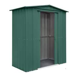 6ft x 3ft Solid Heritage Green Apex Metal Shed (1.71m x 0.82m)