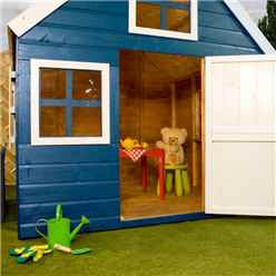INSTALLED Dutch Barn Playhouse 6ft x 6ft - INCLUDES INSTALLATION
