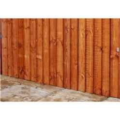 6FT Pressure Treated Vertical Feather Edge (Curved) - 1 Panel Only (Min Order 3 Panels) + Free Delivery*