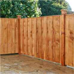 5FT Pressure Treated Vertical Hit & Miss Panels - 1 Panel Only (Min Order 3 Panels) + Free Delivery*