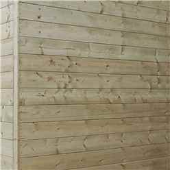 14 x 6 (4.26m x 2.02m) Oxford Pressure Treated Shiplap Pent Shed