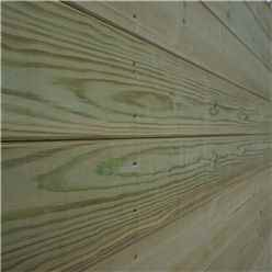 14 x 5 (4.26m x 1.40m) Oxford Pressure Treated Shiplap Pent Shed