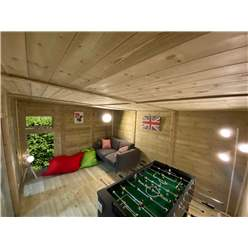 Avon 4m x 4m Insulated Garden Room - INCLUDES FREE INSTALL