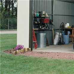**DISCONTINUED** INSTALLED 12ft x 10ft Murryhill Metal Garage (3710m x 2970mm) - INCLUDES INSTALLATION