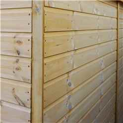 7ft x 5ft (2.23m x 1.65m) Premier Tongue & Groove Apex Shed Single Door + 1 Window (12mm T&G Floor)