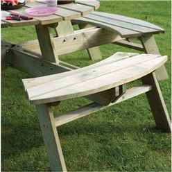 Deluxe Round Picnic Table
