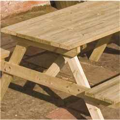 Deluxe 4ft Picnic Table