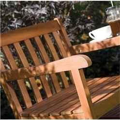 Deluxe Hampton Hardwood Companion Seat