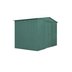 10ft x 8ft Heritage Green Apex Metal Shed (2.95m x 2.37m)