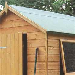 INSTALLED 7ft x 5ft Rowlinson Premier Tongue & Groove Shed (12mm T&G Floor) INCLUDES INSTALLATION