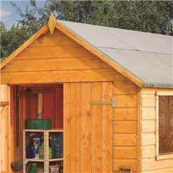 INSTALLED 8ft x 6ft Rowlinson Premier Tongue & Groove Shed (12mm T&G Floor) INCLUDES INSTALLATION