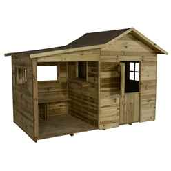 8ft x 4ft Basil Multiplay Playhouse