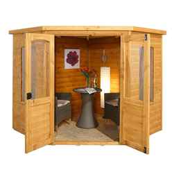 7ft x 7ft Ivy Corner Summerhouse