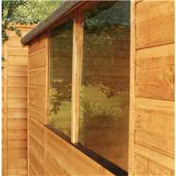 INSTALLED 7ft x 5ft Select Tongue And Groove Apex Shed With 2 Windows And Single Door (12mm Tongue and Groove Floor) - 48hr + Sat Delivery*