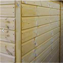 10ft x 8ft Select Tongue And Groove Apex Shed With 2 Windows And Double Door (12mm Tongue and Groove Floor) (10mm Solid OSB Roof) - 48hr + Sat Delivery*