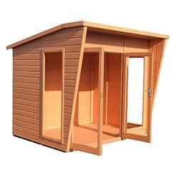 8ft x 6ft (2.99m x 1.79m) - Premier Wooden Summerhouse - 12mm T&G Walls & Floor
