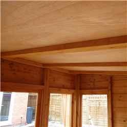 10ft x 8ft (3.06m x 2.39m) - Gloucester Summerhouse - 12mm T&G Floor