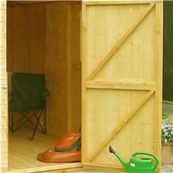 20ft x 10ft (5.99m x 2.99m) - Stowe Tongue & Groove - Garden Shed / Workshop - 6 Windows - Double - 12mm Tongue and Groove Floor and Roof