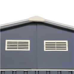 12ft x 26ft Value Metal Garage (3.72m x 7.84m)