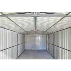 10ft x 17ft Premier EasyFix – Apex – Metal Garage -Anthracite Grey (3.07m x 5.26m)