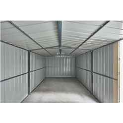 **PRE-ORDER ONLY - BACK IN STOCK MID JUNE** 15ft x 10ft Anthracite Grey Metal Workshop (2.95m X 4.54m)
