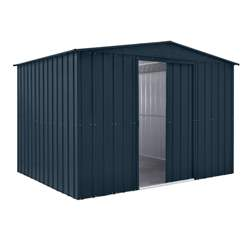 10ft x 7ft Premier EasyFix – Apex – Metal Shed -Anthracite Grey (3.07m x 2.16m)