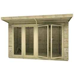 12ft x 8ft Garden Room 16mm Tongue and Groove (16mm Tongue and Groove Floor and Roof)