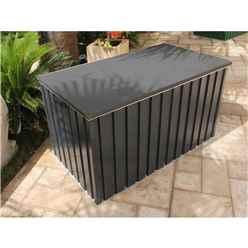 4ft x 2ft Premier Grey Metal Storage Box (1.28m x 0.68m)