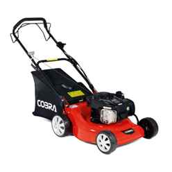 Cobra 46cm Briggs & Stratton Petrol Self-Propelled Rotary Lawnmower - Cobra M46SPB - Free Oil & Free Next Day Delivery*