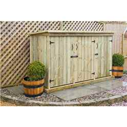 Redwood Pressure Treated Triple Garden Store - Free Delivery*