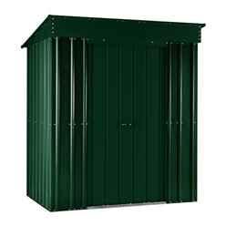 5ft x 3ft Premier EasyFix Heritage Green Pent Shed (1.58m x 0.92m)