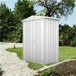 6ft x 3ft Heavy Duty Silver Metallic Metal Shed (1.72m x 0.84m)