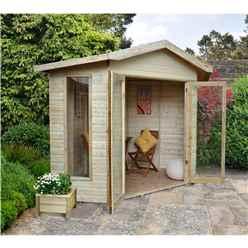 8ft x 8ft Orchid Corner Summerhouse