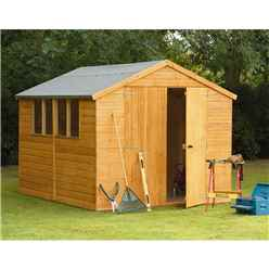 10ft x 8ft Heavy Duty Shiplap Apex Workshop