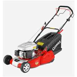 Cobra RM46SPC Petrol Powered 46cm Rear Roller Self Propelled Lawnmower - Free Oil and Free Next Day Delivery*