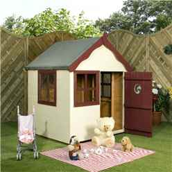 INSTALLED Snug Playhouse 4ft x 4ft - INCLUDES INSTALLATION
